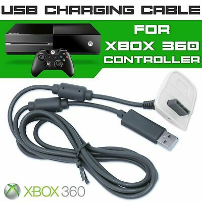 USB Charge Cable for Xbox 360 Controller Gamepad Charger charging XBOX 360