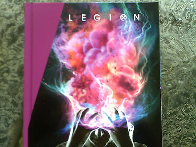Legion: 2018-2017 Emmy 3-Dvd Sets, Two 8-Page Photo Artwork Booklets-7 Episodes!