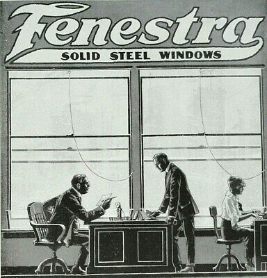 Collectibles 1916 Fenestra Steel Windows Detroit Steel Products Company Advertisement