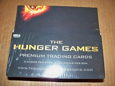 The Hunger Games Movie Premium Trading Cards Box 24 6-card packs per box