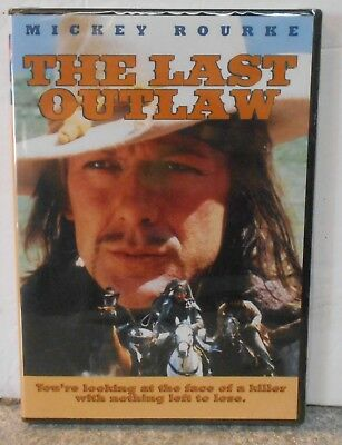 The Last Outlaw (DVD, 2005) RARE MICKEY ROURKE WESTERN BRAND NEW