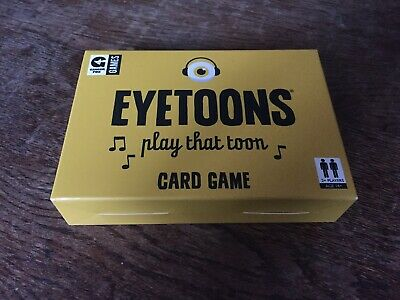 Eyetoons Card Game - Used Once VGC