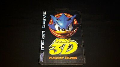 Sonic 3D Flickies' Island - Sega Mega Drive - Boxed and Tested