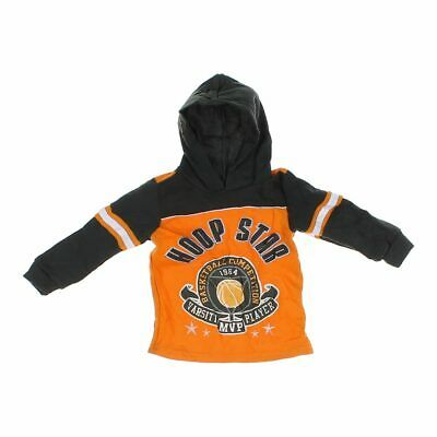 Mad Game Boys Hoodie, size 2/2T,  grey, orange,  polyester