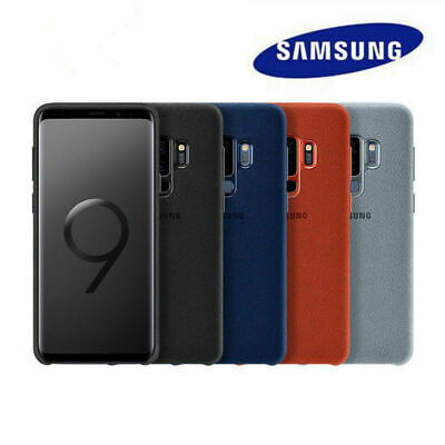 Original ALCANTARA Cover Genuine Case For Samsung Galaxy S9/S9 Plus