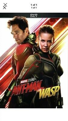 Ant-man and the Wasp DVD 2018-Brand New. Free Shipping