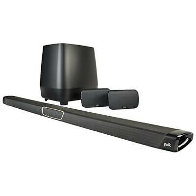 POLK AUDIO MagniFi MAX SR Sistema 5.1 composto da Soundbar, subwoofer wireless e