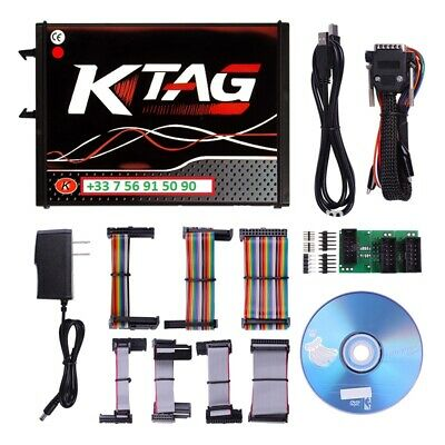 KTAG V7.020 K-tag ECU Programming Tool Master Version Red PCB ECU EU Version