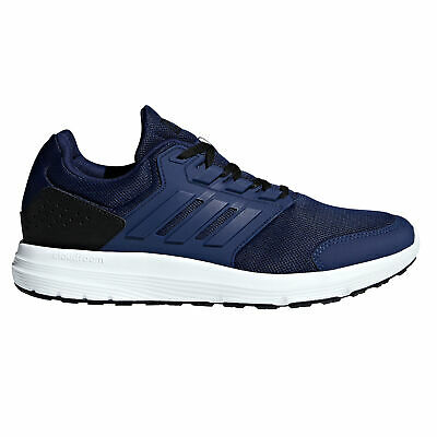 adidas Galaxy 4 Mens Adult Running Fitness Trainer Shoe Blue/White