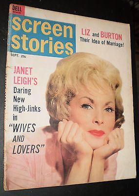 Screen Stories Magazine – September, 1963 (Janet Leigh Cover Story)