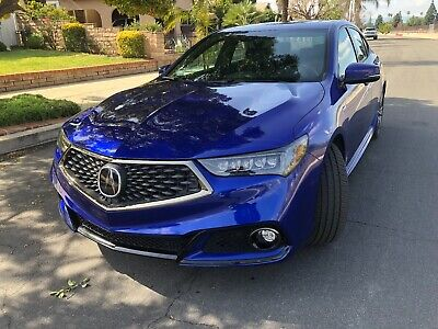 2018 Acura TLX A Spec, SH-AWD 2018 Acura TLX SHAWD A-Spec