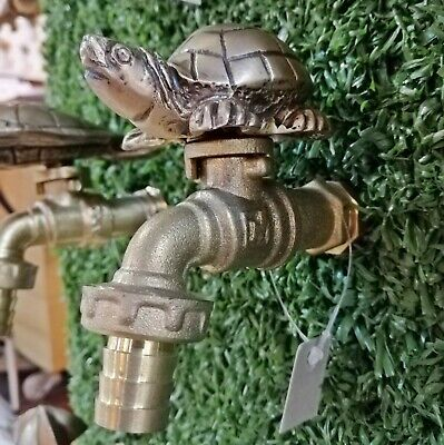 Faucet Vintage Turtle Small Brass Garden Tap Water Spigot Home Decor Outdoor