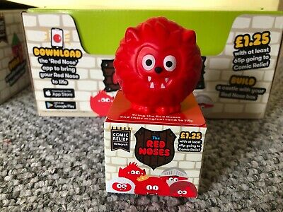 Red Nose Day 2019 Wolfnose the Wolf Red Nose | New With Box | Comic Relief