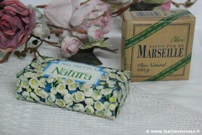 Due Saponette Vidal Mario Fissi Vintage Two Lily Of The Valley Marseille Soaps