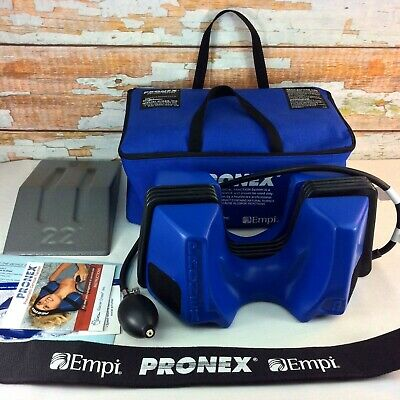 PRONEX Pneumatic Cervical Traction Complete System Glacier Cross Medical in Case