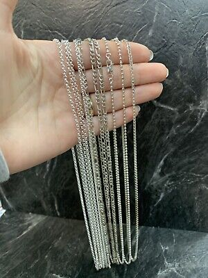 LOT of 10 Sterling Silver 925 Necklaces/Chains (69.1 grams)