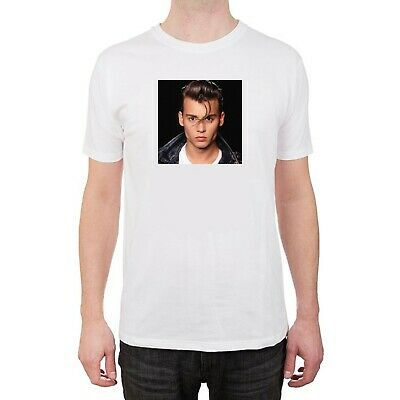 4205c0a7 cry baby johnny depp white tshirt tee shirt graphic size Small Medium Large
