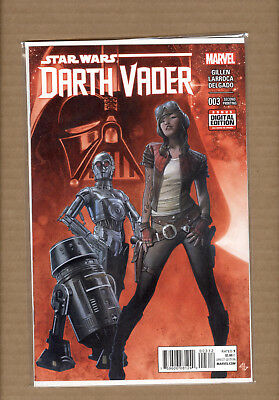 DARTH VADER #3 1st APPEARANCE APHRA 2nd PRINT RED COVER MARVEL STAR WARS 2015 PS