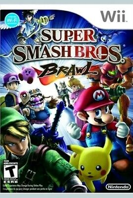 NEW and Sealed Super Smash Bros. Brawl (Nintendo Wii, 2008)