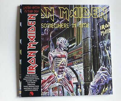 Iron Maiden Somewhere In Time Picture Disc