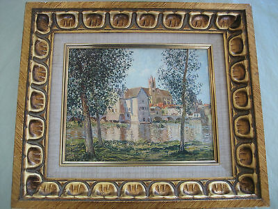 Alfred Sisley Reproduction of Moret-sur-Loing Morning Sunshine Oil Painting
