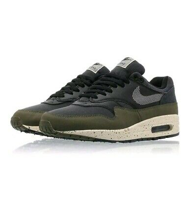 A1227G Nike Air Max 1 SE AO1021-200 Mens Olive Cream Sneakers Size 11 NEW