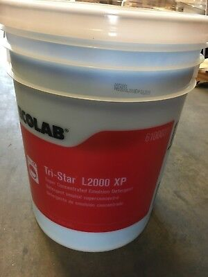 Ecolab 6100031 Tri-Star Laundry Detergent 5 Gallon Pail NEW! FREE SHIPPING!