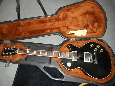Gibson Les Paul Standard, 1990. Black. Plays Professionally. Rare Find...