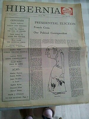 Hibernia Newspaper May 1966 Republican, Radical, Investigative Newspaper. Irish