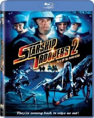 Starship Troopers 2: Hero of the Federation [Blu-ray] New & Sealed!!