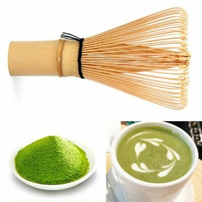 Useful Matcha Green Tea Japanese Ceremony Whisk 64 Powder Chasen Bamboo