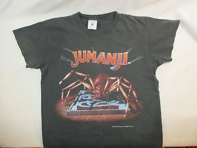 "Vtg.1995 TriStar Pictures Jumanji ""Original Motion Picture"" Youth T-Shirt L"