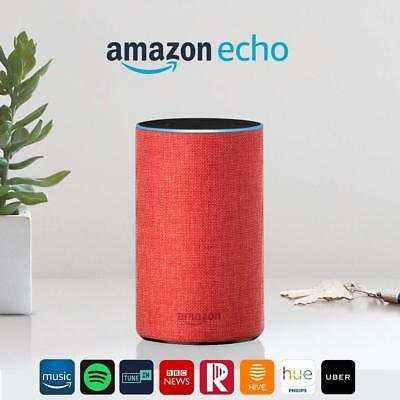 Amazon Echo (2nd Generation) Smart Assistant - RED LIMITED EDITION (NEW)