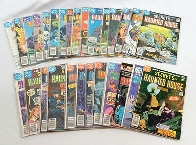 DC Comics 70s Horror Secrets of Haunted House 29 Diff. Issues Between 2 & 46
