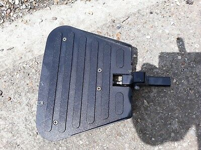 footplate foot rest For a Sunrise Medical Quickie Hula pair powerchair