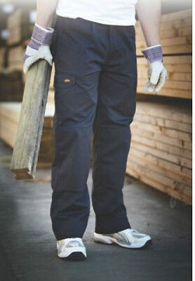 2 Pairs Site Collie Cargo Trousers L31 W36