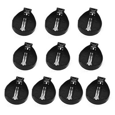 10pcs CR2032 CR2025 Cell Button Battery Case Socket Coin Batteries Holder Round
