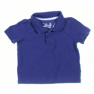 Jumping Beans Baby Boys Polo Shirt, size 12 mo,  blue/navy,  cotton