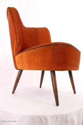 Retro! Schicker 50er Jahre Coctailsessel Lounge Sessel Sessel / 50s Lounge Seat