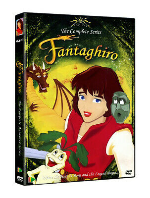 Fantaghiro (1999) Complete Animated Series - Cave of the Golden Rose 4 DVD set!