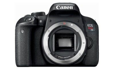 Canon EOS Rebel T7i / EOS 800D 24.2MP Digital SLR Camera - Black (Body Only)