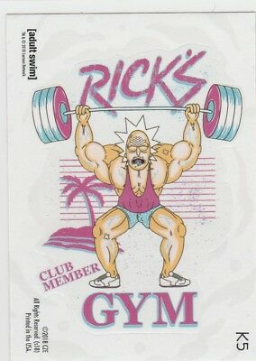 2018 Cryptozoic Rick and Morty Season 1 #K5 Rick's Gym