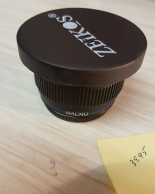 Zeikos .40x Super Wide Fisheye Lens For Canon