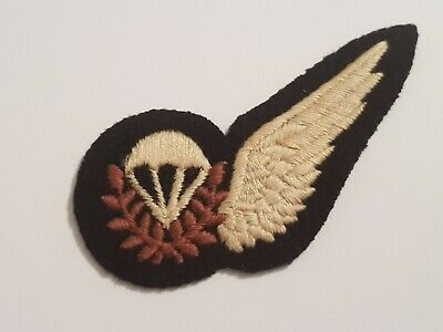 Recent Issue RAF Royal Air Force Parachute Jump Instructor Half Wing Brevet.