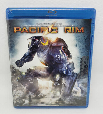 Pacific Rim (Blu-ray Disc) New Sealed Package (No Slipcover)