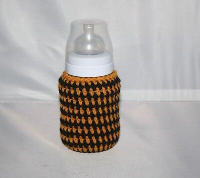 Crochet baby bottle COVER Tommee Tippee/ NUK / MAM/ AVENT / DrBrown PERSONALISED
