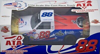 1999 Racing Champions NASCAR Terry Cook #88 ATA 1:24 Scale Die Cast Race Truck