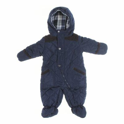 e68d4621a $70 S ROTHSCHILD Baby boy color blocked Footed Pram snowsuit size 3 ...