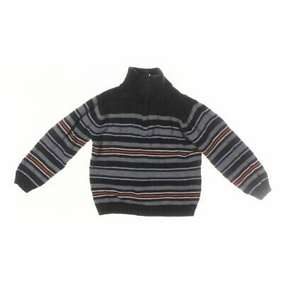 Newton Trading Co. Boys Sweater, size 5/5T,  blue/navy, grey,  cotton