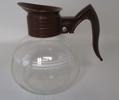 Cory Glass Brown Coffee Decanter